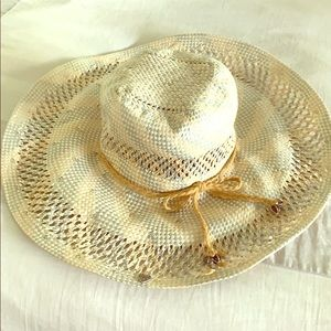 Juicy Couture Floppy Paper Hat